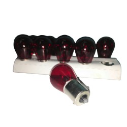 Bombillo 1073 Rojo 1 Contacto 21w 12V